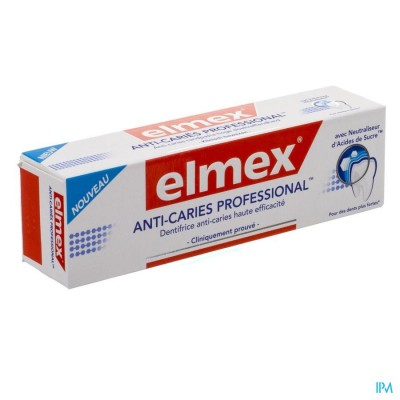 ELMEX® ANTI-CARIËS PROFESSIONAL™ TANDPASTA TUBE 75ML