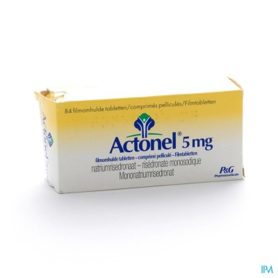 Actonel Tabl 84 X 5mg