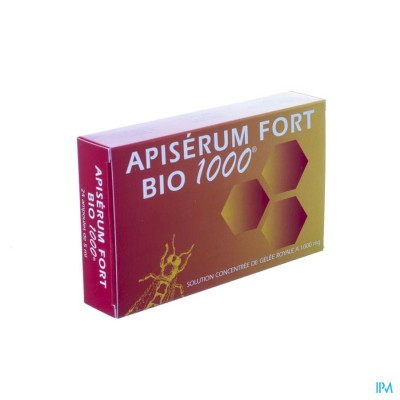 Apiserum Fort Bio 1000 Amp 24 X 5ml