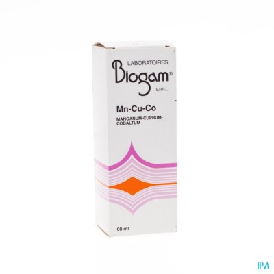 Biogam Mn-cu-co Fl 60ml