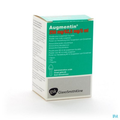 Augmentin Sir 1x80ml 250mg-62,50mg