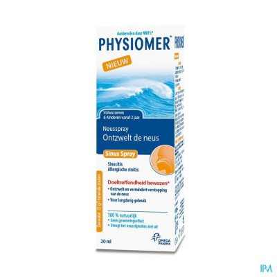 Physiomer Sinus Pocket 20ml New Verv.2374817