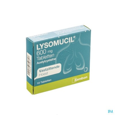 Lysomucil 600 Comp 10 X 600mg