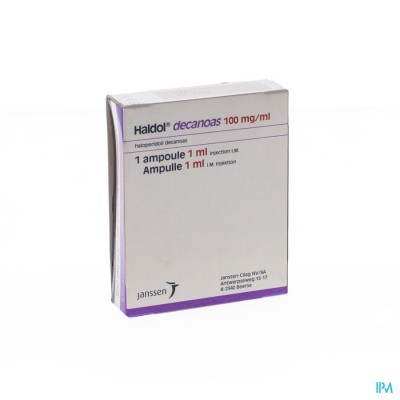 Haldol Decanoas Amp 1 X 1ml 100mg/ml