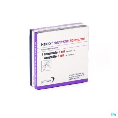 Haldol Decanoas Amp 1 X 3ml 50mg/ml